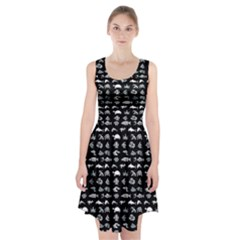 Fish Pattern Racerback Midi Dress by ValentinaDesign