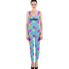 Summer Pattern Onepiece Catsuit by ValentinaDesign