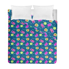 Summer Pattern Duvet Cover Double Side (full/ Double Size) by ValentinaDesign