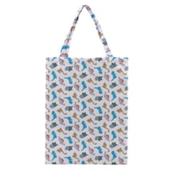 Dinosaurs Pattern Classic Tote Bag by ValentinaDesign