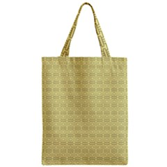 Pattern Zipper Classic Tote Bag by ValentinaDesign