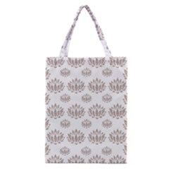 Dot Lotus Flower Flower Floral Classic Tote Bag