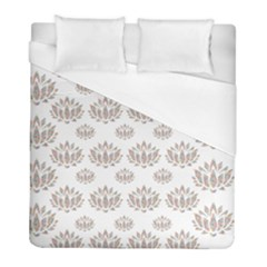 Dot Lotus Flower Flower Floral Duvet Cover (full/ Double Size) by Mariart
