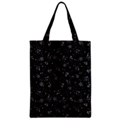 Floral Pattern Zipper Classic Tote Bag by ValentinaDesign