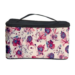 Floral Pattern Cosmetic Storage Case by ValentinaDesign