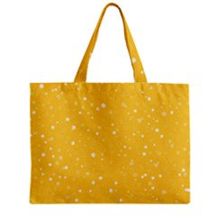 Dots Pattern Zipper Mini Tote Bag by ValentinaDesign