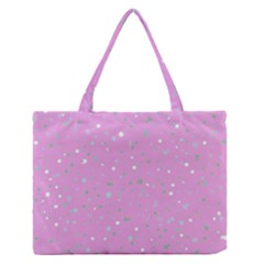 Dots Pattern Medium Zipper Tote Bag by ValentinaDesign