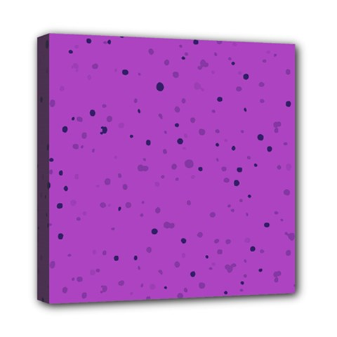 Dots Pattern Mini Canvas 8  X 8  by ValentinaDesign