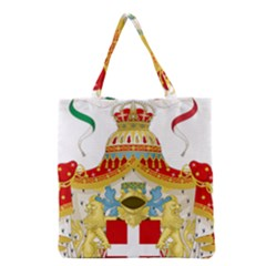 Coat Of Arms Of The Kingdom Of Italy Grocery Tote Bag by abbeyz71