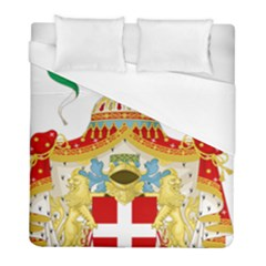 Coat Of Arms Of The Kingdom Of Italy Duvet Cover (full/ Double Size) by abbeyz71