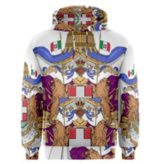 Greater Coat Of Arms Of Italy, 1870 1890 Men s Pullover Hoodie