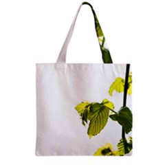 Leaves Nature Grocery Tote Bag by Nexatart