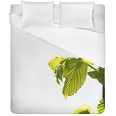 Leaves Nature Duvet Cover Double Side (california King Size) by Nexatart