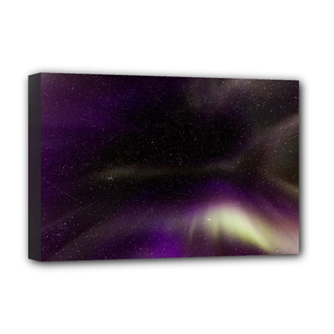 The Northern Lights Nature Deluxe Canvas 18  X 12