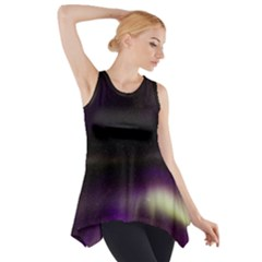 The Northern Lights Nature Side Drop Tank Tunic