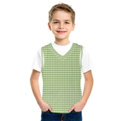 Gingham Check Plaid Fabric Pattern Kids  Sportswear