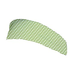 Gingham Check Plaid Fabric Pattern Stretchable Headband