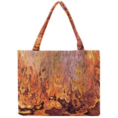 Background Texture Pattern Vintage Mini Tote Bag