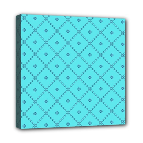 Pattern Background Texture Mini Canvas 8  X 8  by Nexatart