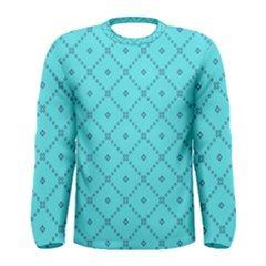 Pattern Background Texture Men s Long Sleeve Tee
