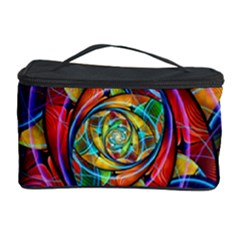 Eye Of The Rainbow Cosmetic Storage Case by WolfepawFractals