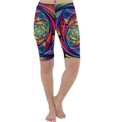 Eye Of The Rainbow Cropped Leggings