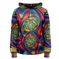 Eye Of The Rainbow Women s Pullover Hoodie