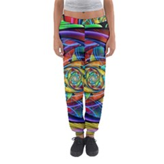 Eye Of The Rainbow Women s Jogger Sweatpants