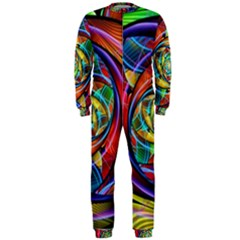 Eye Of The Rainbow Onepiece Jumpsuit (men)