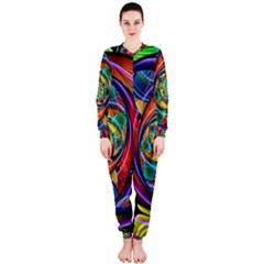 Eye Of The Rainbow Onepiece Jumpsuit (ladies)