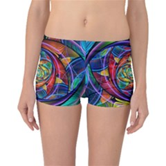 Eye Of The Rainbow Boyleg Bikini Bottoms