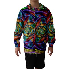 Eye Of The Rainbow Hooded Wind Breaker (kids)