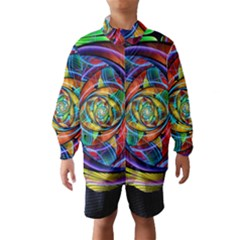 Eye Of The Rainbow Wind Breaker (kids)