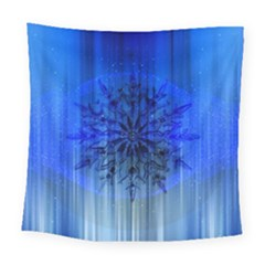 Background Christmas Star Square Tapestry (large)