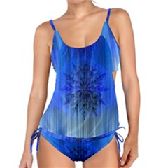 Background Christmas Star Tankini