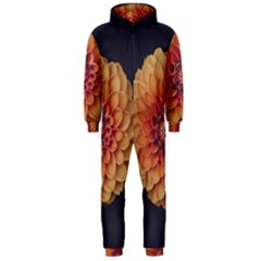 Art Beautiful Bloom Blossom Bright Hooded Jumpsuit (men)