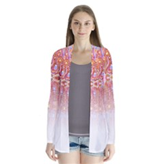 Effect Isolated Graphic Cardigans