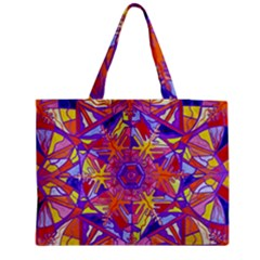 Exhilaration   Medium Zipper Tote Bag