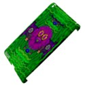 Summer Flower Girl With Pandas Dancing In The Green Apple iPad 3/4 Hardshell Case (Compatible with Smart Cover) View4