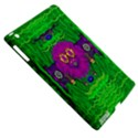 Summer Flower Girl With Pandas Dancing In The Green Apple iPad 3/4 Hardshell Case (Compatible with Smart Cover) View5