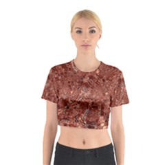 Melting Swirl A Cotton Crop Top by MoreColorsinLife