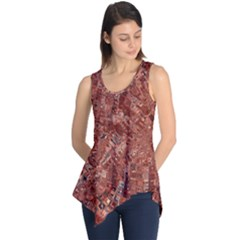 Melting Swirl A Sleeveless Tunic by MoreColorsinLife