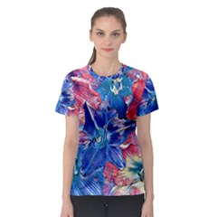 Wonderful Floral 22c Women s Sport Mesh Tee by MoreColorsinLife