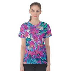 Wonderful Floral 25a Women s Cotton Tee