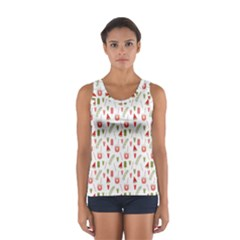Watermelon Fruit Paterns Women s Sport Tank Top  by TastefulDesigns