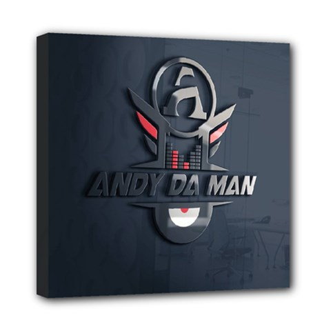 Andy Da Man 3d Dark Mini Canvas 8  X 8  by Acid909
