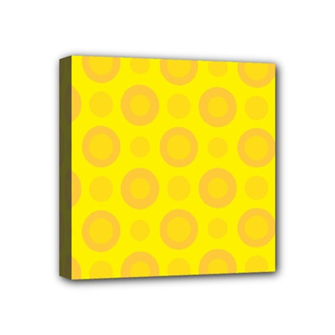 Cheese Background Mini Canvas 4  X 4  by berwies