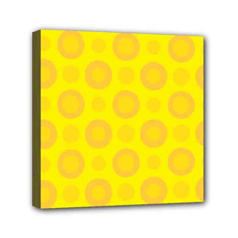 Cheese Background Mini Canvas 6  X 6  by berwies