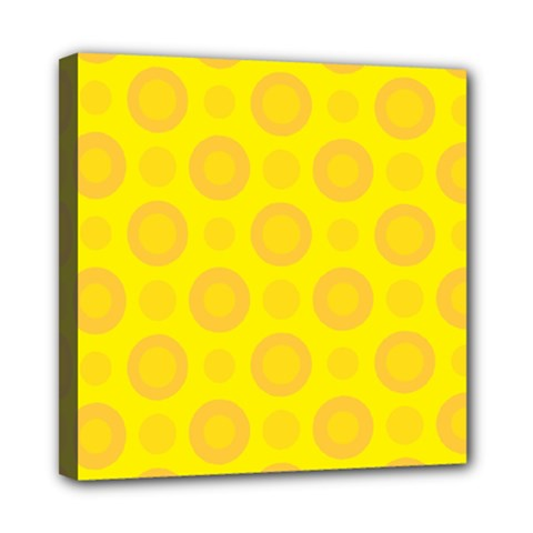Cheese Background Mini Canvas 8  X 8  by berwies