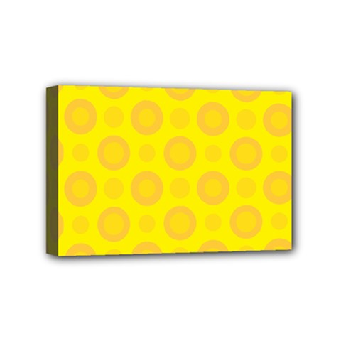 Cheese Background Mini Canvas 6  X 4  by berwies